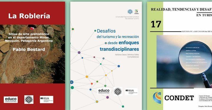 Nuevas publicaciones de la editorial de la Universidad Nacional del Comahue