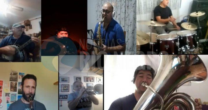 """Nuevo video de la """"Riverside Hot Jazz"""", integrada por músicos de Viedma y General Roca"""