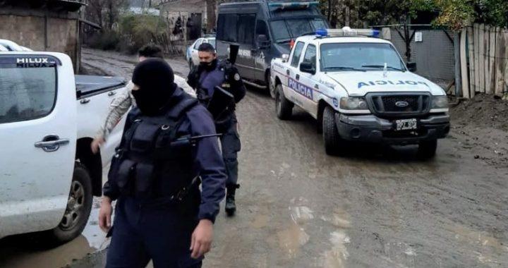Cipolletti: continúan los allanamientos en barrio Costa Norte