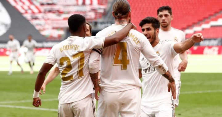Real Madrid vence al Bilbao y afianza su liderazgo en La Liga