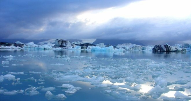 El casquete polar ártico registró la segunda menor superficie desde que comenzaron los registros