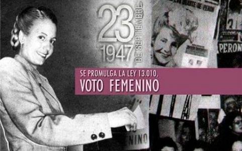 Se cumplen 73 años de la promulgación de la Ley del voto femenino