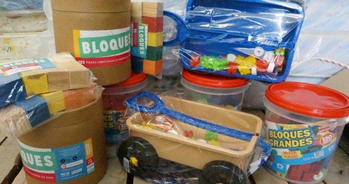 Espacios de Primera Infancia recibirán juguetes y material didáctico