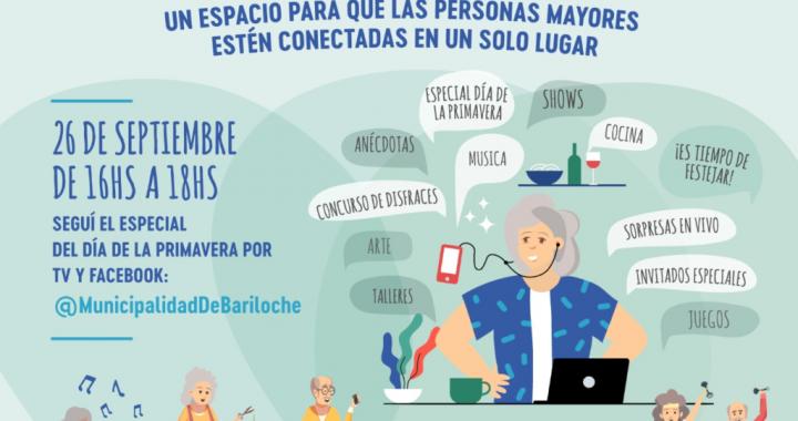 Día de la Primavera de las Personas Mayores: shows, entrevistas y movimiento