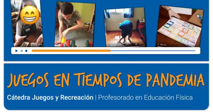 Una cátedra de la UNCo Bariloche comparte juegos para hacer en casa