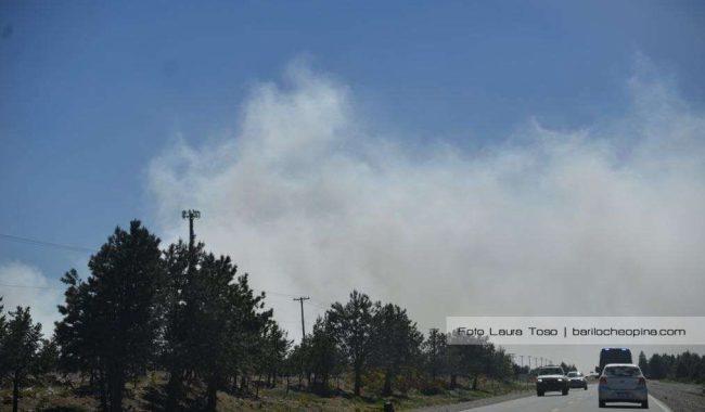 Incendio en el Vertedero: lograron contener las llamas pero el humo persiste
