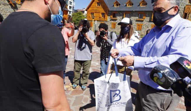 Reapertura del turismo: Los primeros visitantes fueron recibidos en el Centro Cívico