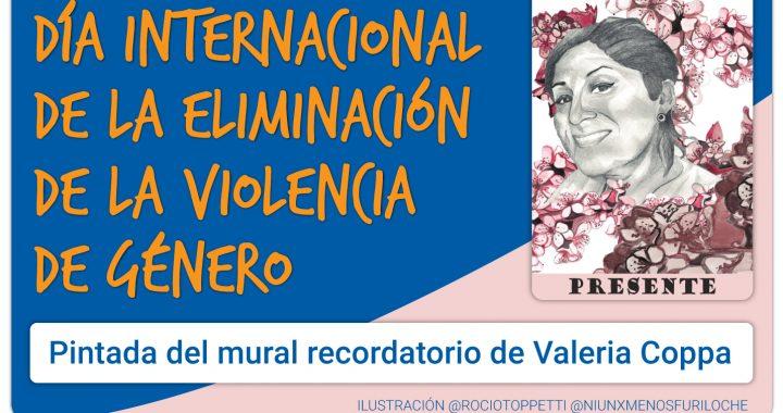 Día Internacional de la Eliminación de la Violencia de Género: Mural en la UNCo Bariloche