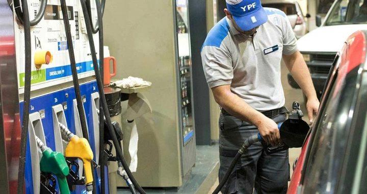 YPF aumentó un 3.5% promedio sus combustibles