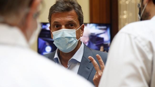 Massa destacó la campaña de vacunación contra el Covid-19