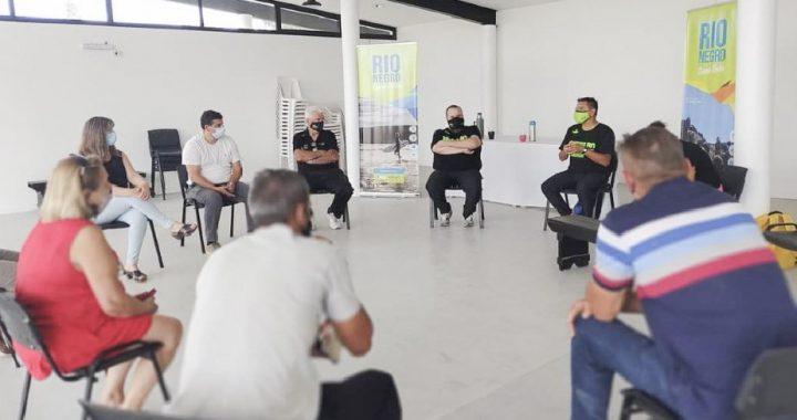 El programa de deporte social, inclusión y contención arribó al Valle Medio