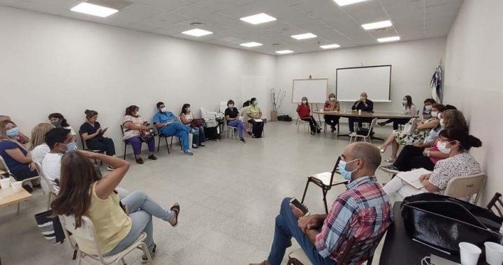 Vacunación: Salud reunió a directores y referentes de inmunizaciones de hospitales del Alto Valle