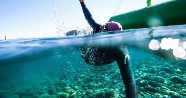 La natación de aguas abiertas vuelve a Bariloche de la mano de la «Vuelta a la Huemul»