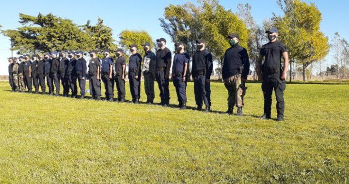 Con 28 efectivos, dio comienzo en Viedma el curso de formación para el Grupo Especial COER