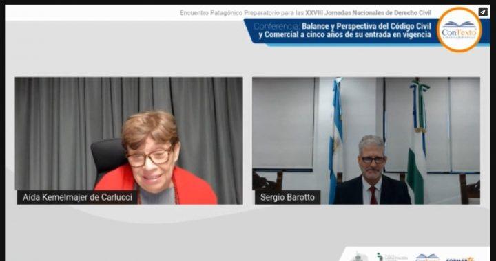 El Encuentro Patagónico de Derecho Civil abrió con 300 participantes virtuales