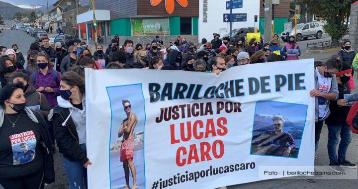 Marcharon nuevamente en Bariloche para pedir justicia por Lucas Caro