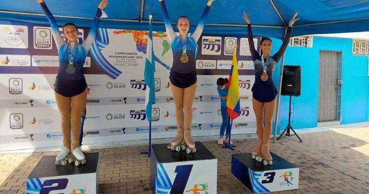 La rionegrina Delfina Lang obtuvo la medalla de oro del Campeonato Panamericano de Naciones