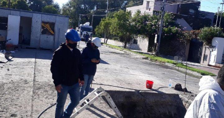 Aguas Rionegrinas remarca la importancia de utilizar elementos de protección personal en las obras
