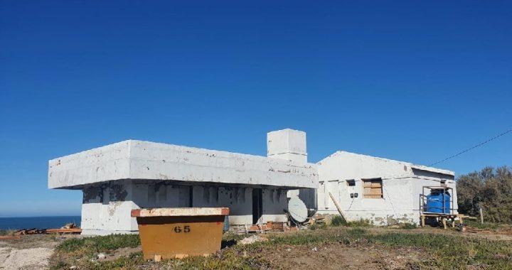 Avanzan las obras de infraestructura turística en La Lobería