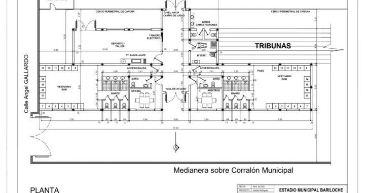 """Avanza el plan de refacción y mejoras en el Estadio Municipal """"José Antonio Jalil"""""""
