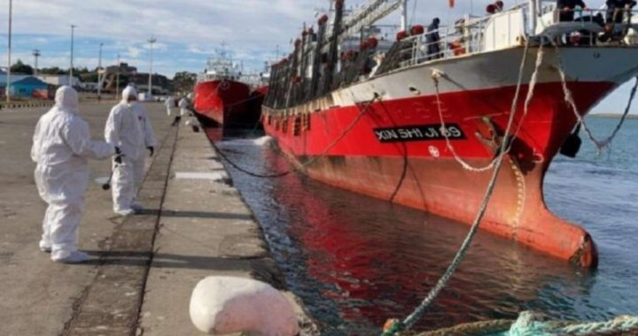 Brote de coronavirus en un pesquero: murió un marinero y hay seis infectados