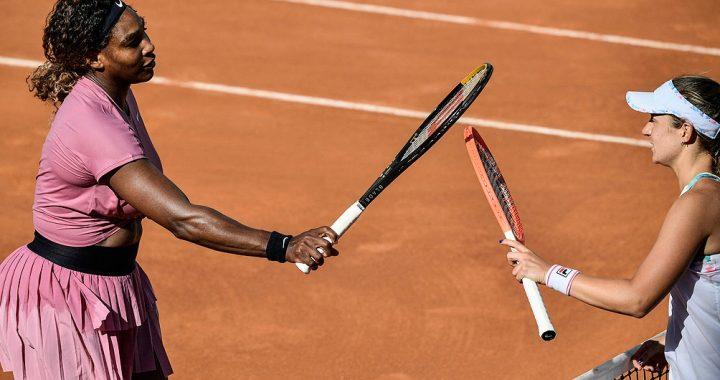 Podoroska dio el batacazo en Roma con un triunfo ante Serena Williams