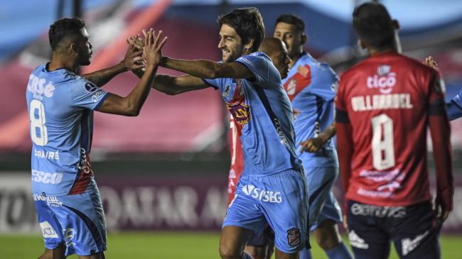 Sudamericana: Arsenal ganó ante Wilstermann y San Lorenzo igualó con 12 de Octubre