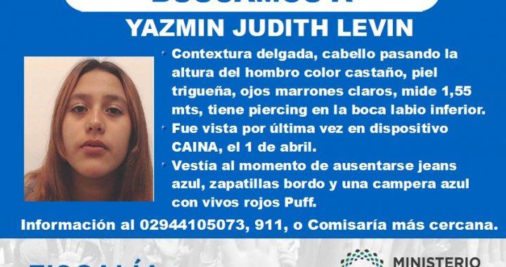 Bariloche: Búsqueda de YAZMIN JUDITH LEVI