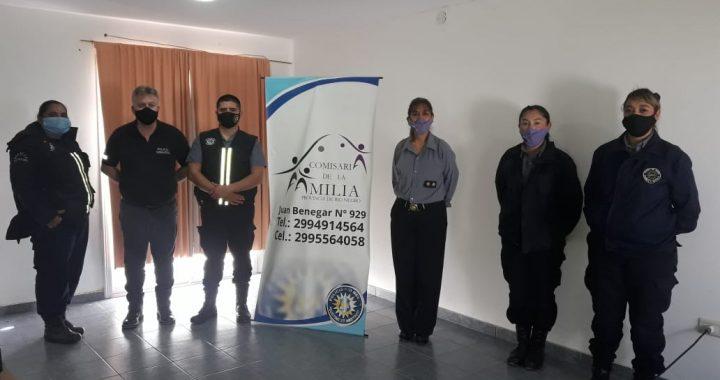 La Comisaría de la Familia de Catriel brindó una capacitación a personal policial