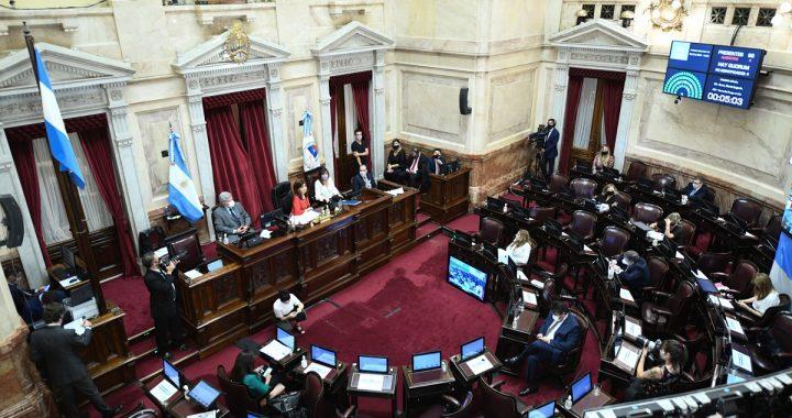 El Senado sesionaría este jueves para ratificar tres DNU de Alberto Fernández