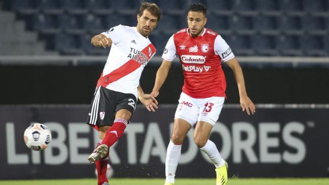 Libertadores: River empató con Independiente Santa Fe de Colombia en Paraguay