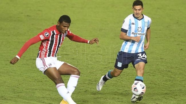 Libertadores: Racing y San Pablo empataron en Avellaneda por el Grupo E