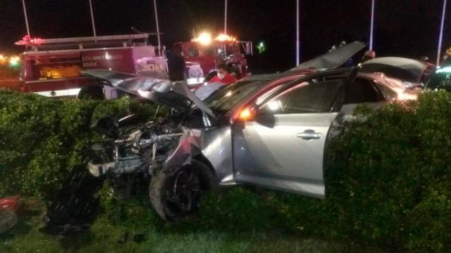 El joven que chocó con el auto en Tigre se negó a declarar