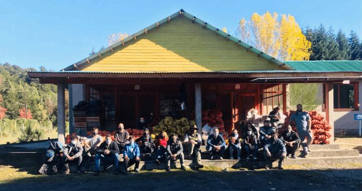 Positiva articulación para traer a Bariloche verduras agroecológicas del Valle Inferior