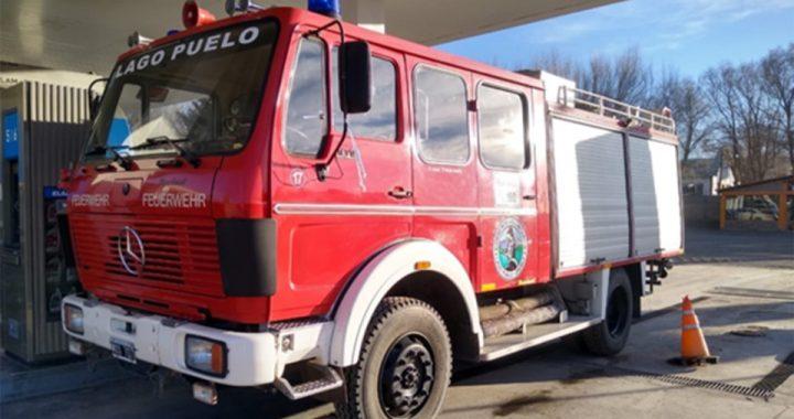 Los Bomberos de Lago Puelo con una nueva autobomba