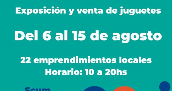 """Del 6 al 15 de agosto en el SCUM, """"Ronda"""": Emprendimientos Creativos para la Infancia"""