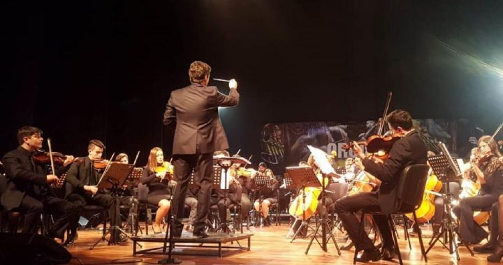 La Filarmónica de Río Negro vuelve a encontrarse con el público de Cipolletti