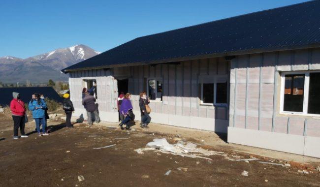 Cooperativa 13 de Mayo: Avanza a buen ritmo la construcción de viviendas en las 26,5 Hectáreas