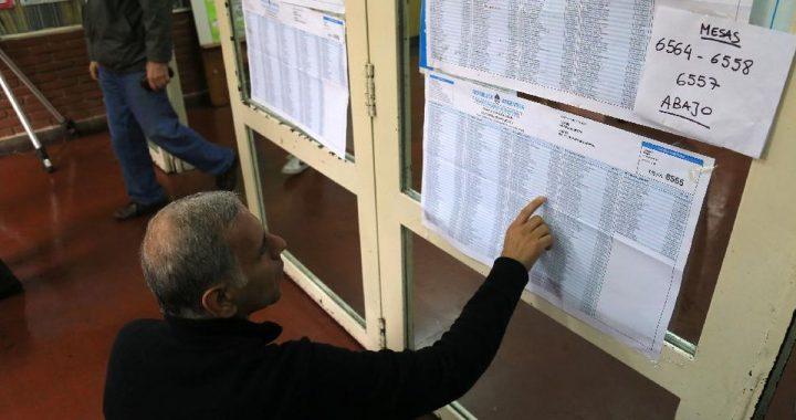 En las PASO habrá 101.457 mesas para sufragar y 34.332.992 electores habilitados