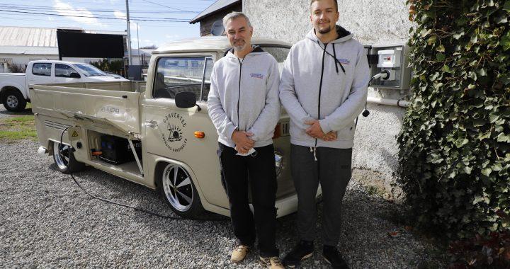 Pionero de las energías alternativas en Bariloche reconvirtió su pickup y ahora es eléctrica