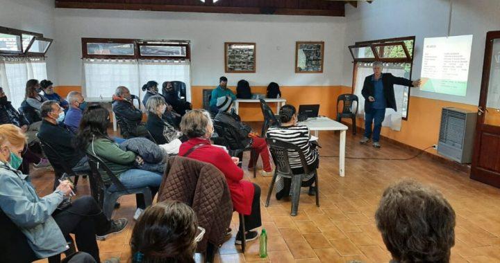 Con la charla a las Juntas Vecinales del Oeste en Colonia Suiza, finalizaron las presentaciones del Plan de Evacuación y Puntos de Encuentro