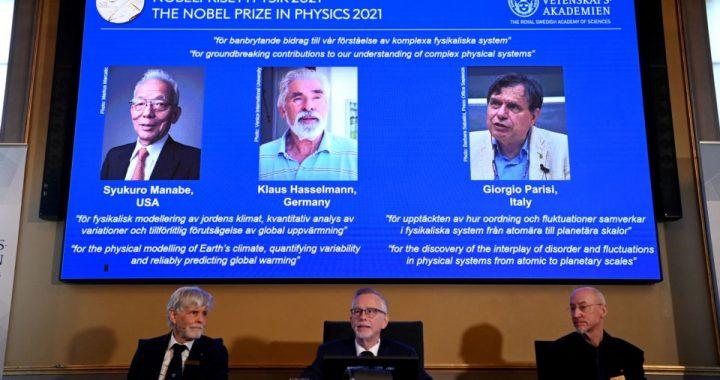 El Nobel de Física premió a dos meteorólogos expertos en cambio climático