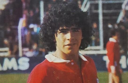 A 45 años del debut de Maradona
