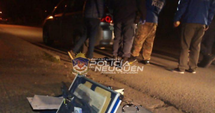 Dos personas demoradas en un procedimiento antidrogas en el centro de Villa La Angostura