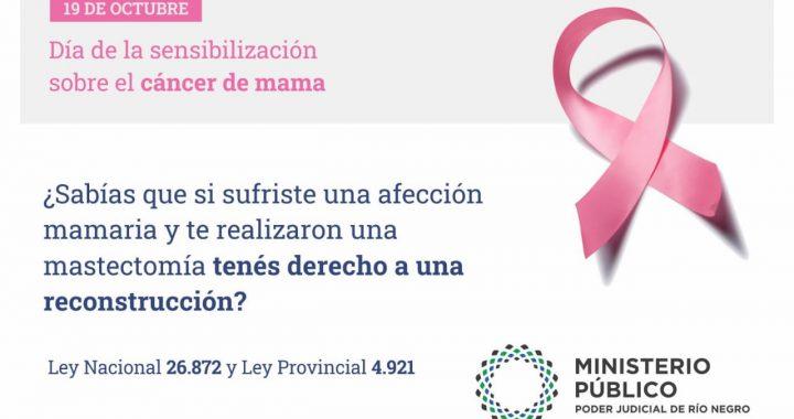 Si sufriste una afección mamaria y te realizaron una mastectomía tenés derecho a una reconstrucción