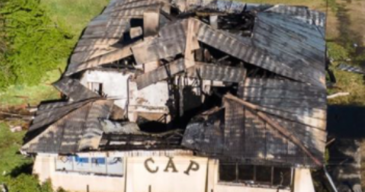 Ataque en El Bolsón: había dos bidones con nafta que no llegaron a explotar