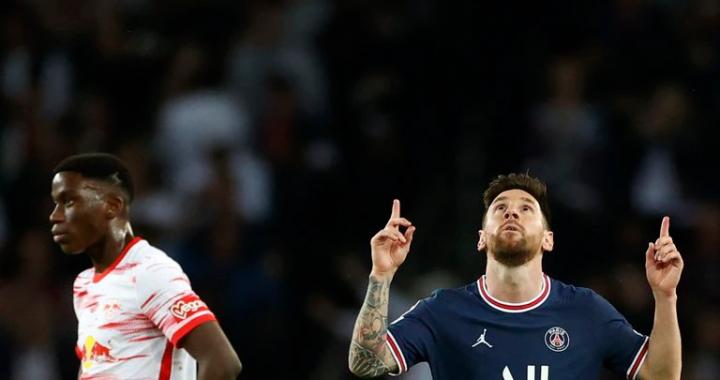 Con dos goles, Messi salvó al PSG y le dio el triunfo ante Leipzig por Champions League